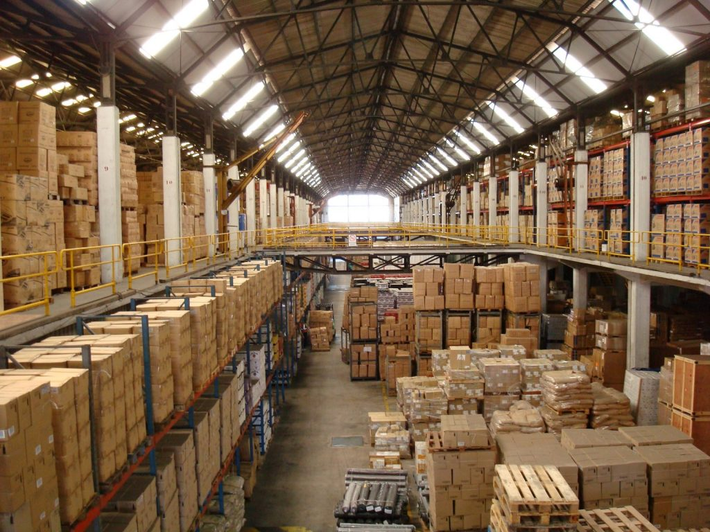 warehouse storage expenses
